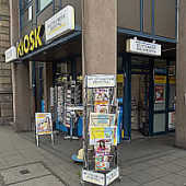 Der sympathische Kiosk in der Charlottenstraße 14, Stuttgart