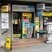 Der sympathische Kiosk in der Charlottenstraße 25, 70182 Stuttgart