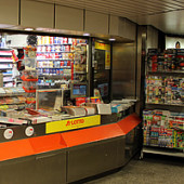 Der sympathische Kiosk in derEberhardstraße 1, 70173 Stuttgart